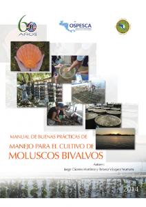 MANUAL DE BUENAS PRACTICAS MOLUSCOS
